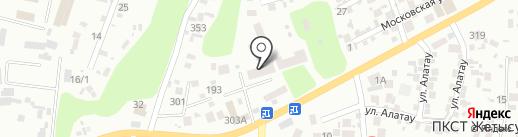888 на карте Алматы