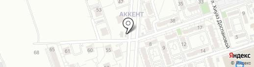 Айт Фасилити Менеджмент на карте Алматы