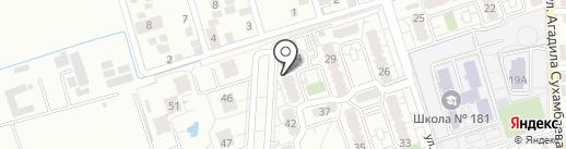 Asia Vent, ТОО на карте Алматы