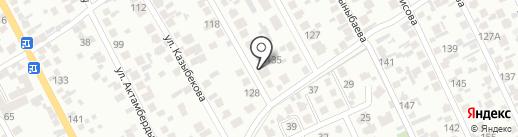 Тандем, продуктовый магазин на карте Алматы