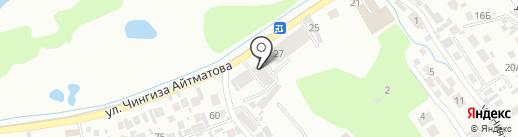 Байрамов, ТОО на карте Таусамалы