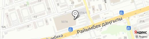 Boom-Boom на карте Алматы