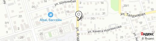 Нур, магазин на карте Алматы