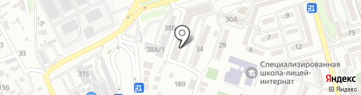 SMG, ТОО на карте Алматы