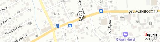 Шахар-транссервис на карте Алматы