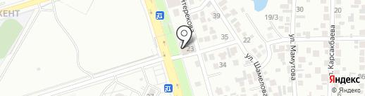 SCT на карте Алматы