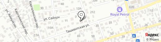 Ипархан на карте Алматы