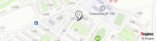 Sary на карте Алматы