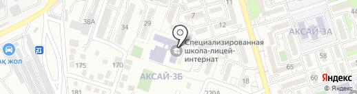 Алматинский городской специализированный казахско-турецкий лицей-интернат на карте Алматы