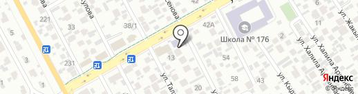 Шугыла на карте Алматы