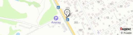 Цветочный магазин на карте Алматы