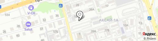 GT Oil Service на карте Алматы