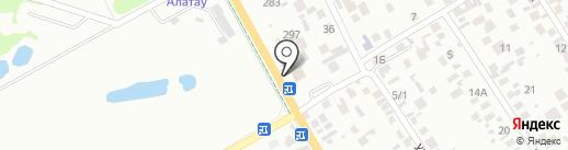 НУР ПОЛИС на карте Алматы