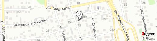 Адина на карте Алматы