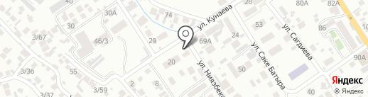 Каменка на карте Алматы