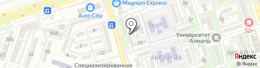 Ням Ням, продуктовый магазин на карте Алматы