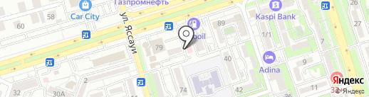 Достар Мед, ТОО на карте Алматы