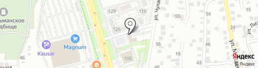 Алатауский районный эксплуатационный участок на карте Алматы
