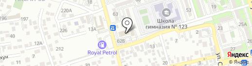 Управления государственных доходов по Наурызбайскому району на карте Алматы