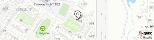 Наргиза на карте Алматы