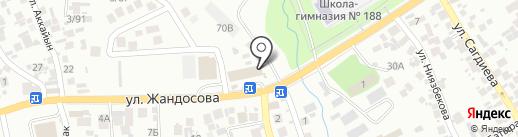 Ваш мастер на карте Алматы
