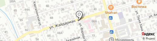 Рекламно-производственная компания на карте Алматы