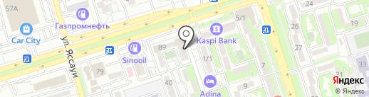 Max Life на карте Алматы