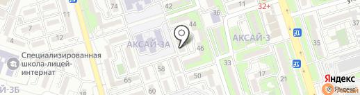 Сафура на карте Алматы