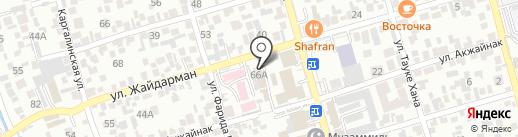 ДИДАР-БАРС на карте Алматы