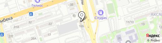 Шинторг на карте Алматы