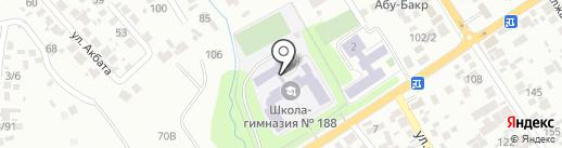 Средняя школа им. Б. Сокпакбаева с дошкольным мини-центром на карте Таусамалы