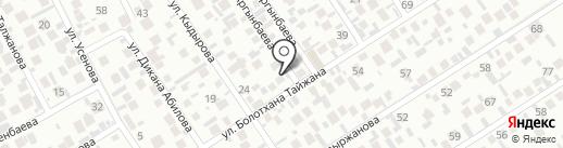 Умничка на карте Алматы