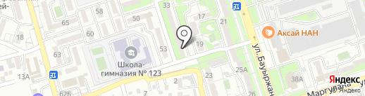 Genius на карте Алматы