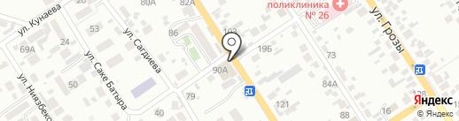 Золотое руно на карте Алматы