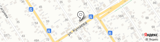 Киоск быстрого питания на карте Алматы