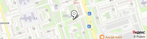 Дулат на карте Алматы