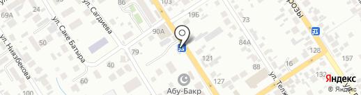 Магазин по продаже цветов на карте Алматы