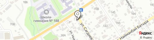 Продовольственный магазин на карте Таусамалы