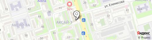 Simit center на карте Алматы