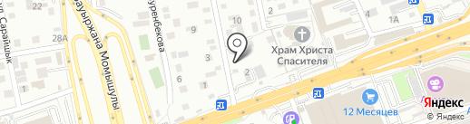 Das Auto на карте Алматы