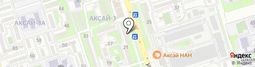 Нотариус Маметова Г.К. на карте Алматы