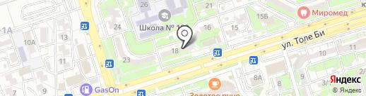 LorryTranService на карте Алматы