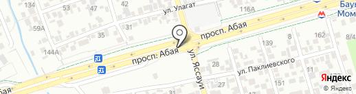 Шашлычная, кафе на карте Алматы