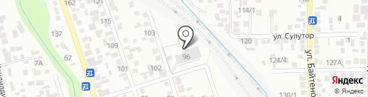 Новый день на карте Алматы