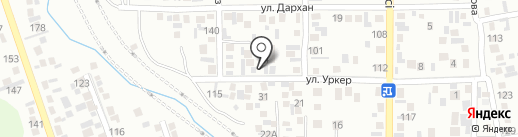 Азат на карте Алматы