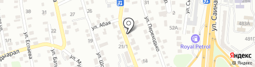 Арслан на карте Алматы