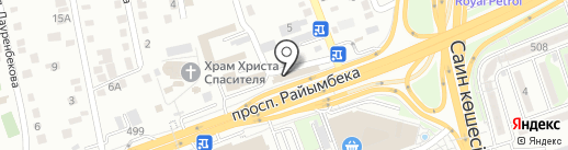 Star Service, ТОО на карте Алматы