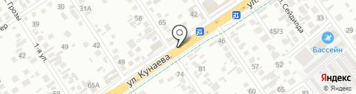 Дам на карте Алматы