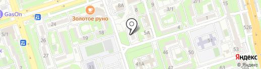 Ана мен бала на карте Алматы