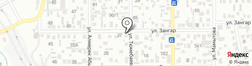 Березка на карте Алматы